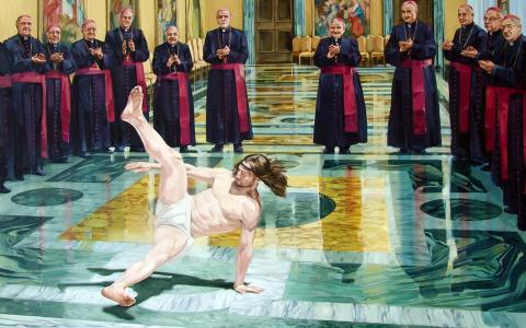 耶稣跳舞休息