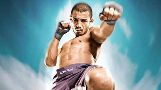 无畏的战斗机UFC何塞·奥尔多