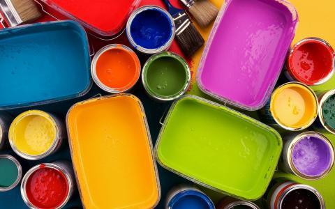 多彩多姿的涂料