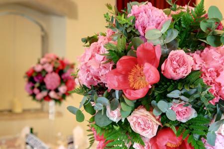 美丽的牡丹花束
