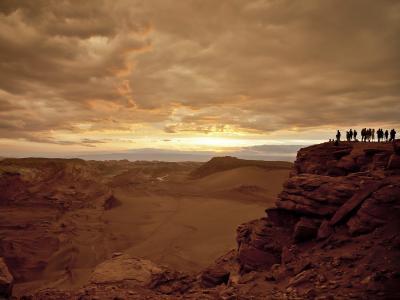 智利的月亮沙漠