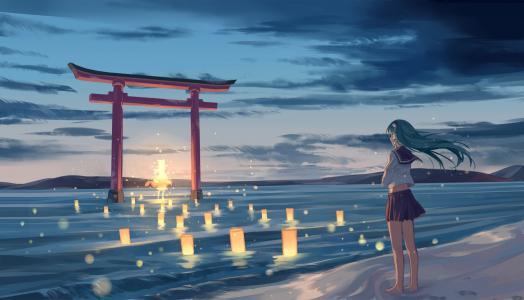 这个女孩崇拜女神Suvako Moriya,动画