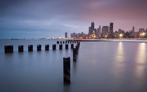 美国芝加哥北部