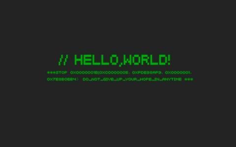 Ubuntu的背景,Hello world程序