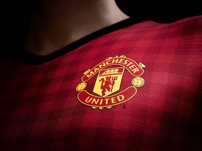 英格兰曼联的心爱的足球俱乐部