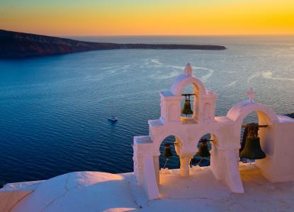 钟楼在希腊