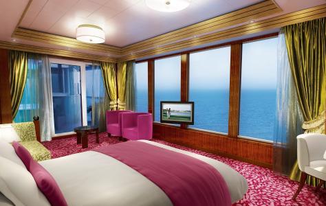 粉红色的卧室
