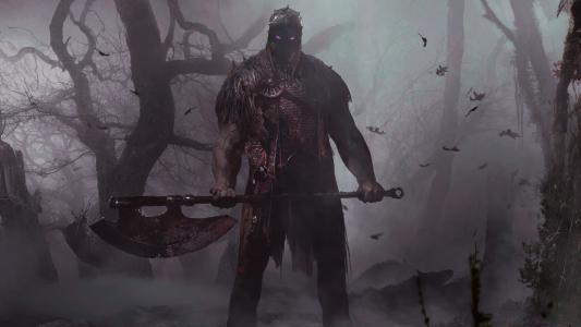 用斧头在游戏中的勇士万智牌