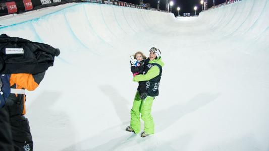 法国自由职业者马丁·马丁丁在索契奥运会上