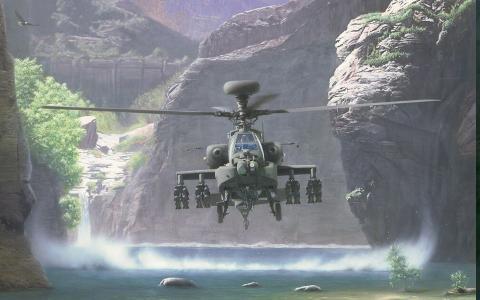 直升机AN-64