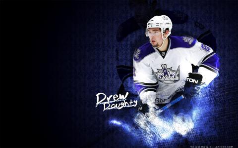 来自洛杉矶,德鲁Doughty最好的冰球运动员