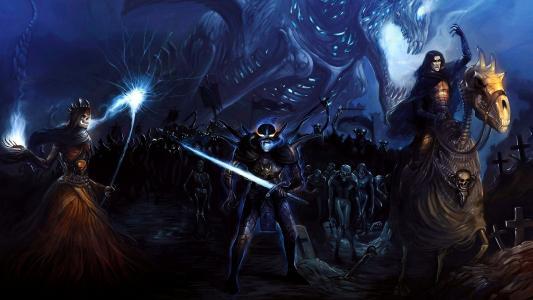 怪物与火热的剑
