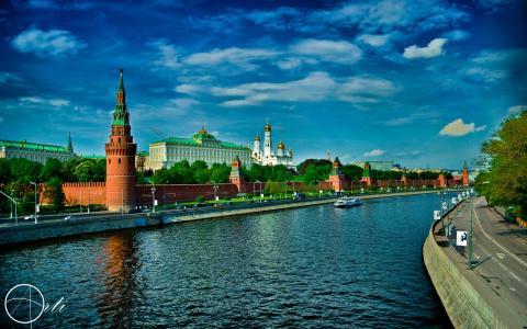 夏天在莫斯科