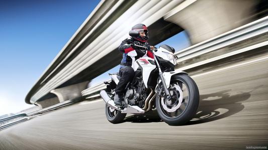 摩托车模型新的本田CB 500摩托车