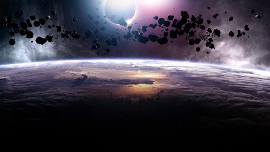 小行星的日出