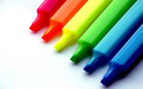 创造性的颜色,铅笔