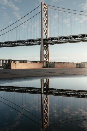 漂亮桥梁微信背景
