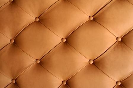 一个真皮沙发的纹理