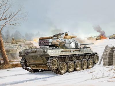 雪,烟,战斗