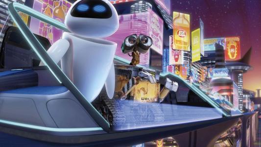 机器人从卡通
