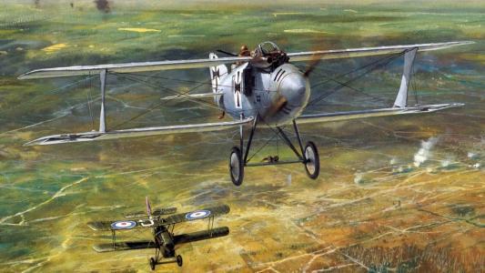 第一次世界大战的飞机