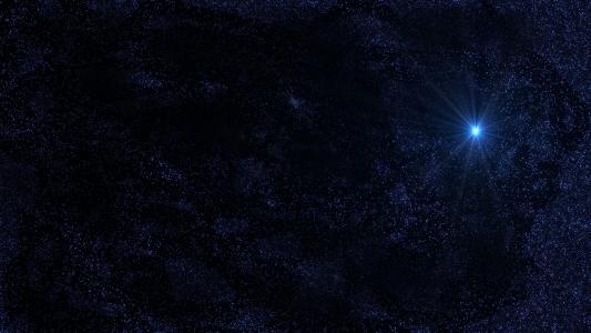太空中的很多恒星