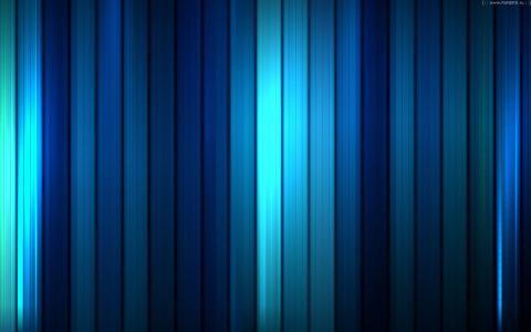 蓝色可视化