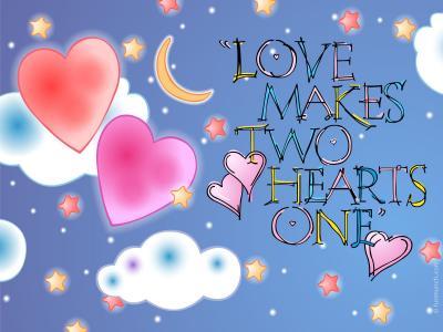 爱使两颗心完整