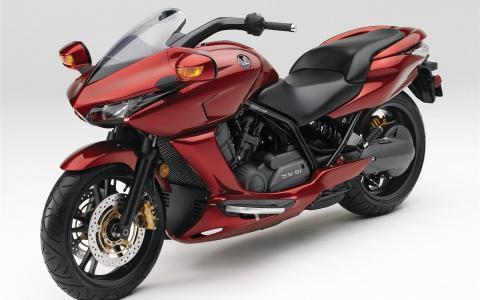 红色摩托车本田DN 01