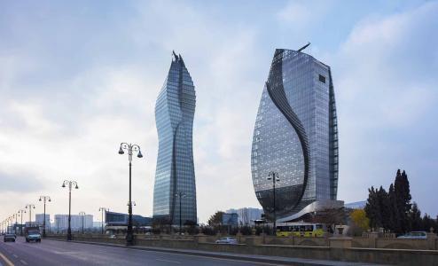 Socar塔和Azersu办公大楼 - 在巴库的高层建筑