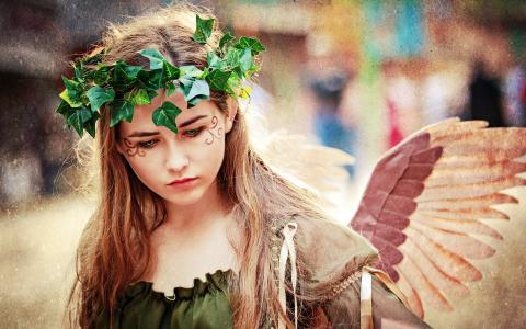 天使,风格