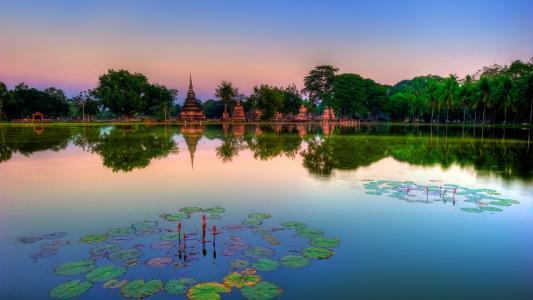 国家公园在泰国