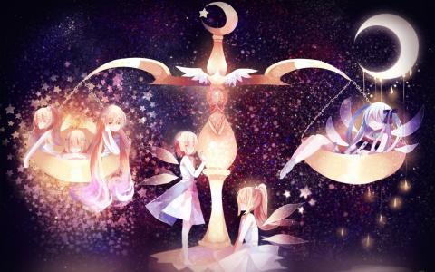 天秤座的童话女孩