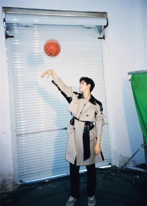 陈飞宇篮球胶片大片