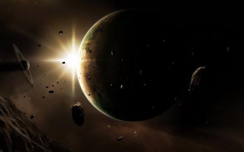 行星和小行星