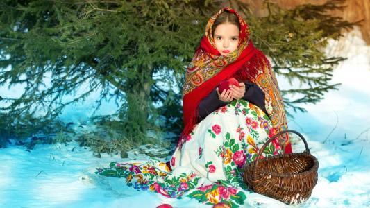 年轻的俄罗斯美女