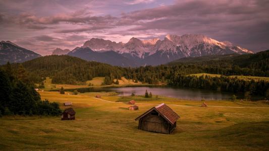 巴伐利亚阿尔卑斯山,德国