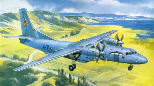 在领域的苏联飞机