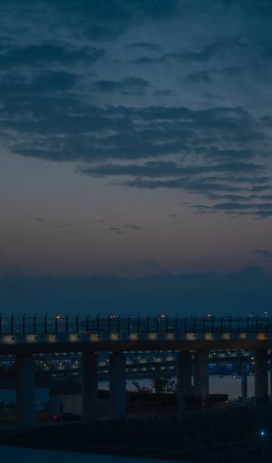 傍晚风景微信背景