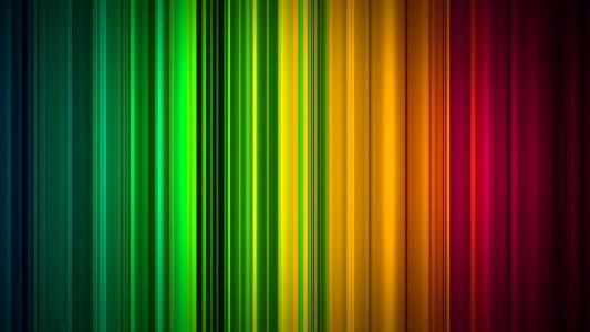 垂直的梯度,彩虹