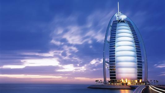 Burj Al Arab在迪拜