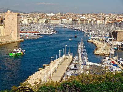 小海湾在法国马赛