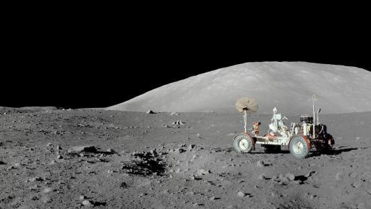 在月球上的Lunokhod