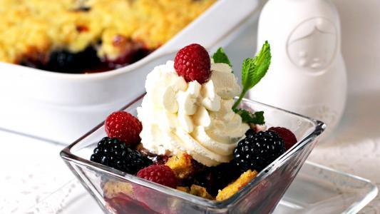 馅饼与黑莓