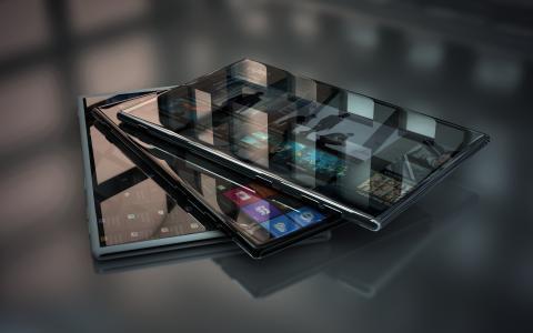 反射,高科技,平板电脑,屏幕,现代