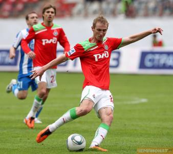 弗拉季斯拉夫Ignatiev球员Lokomotiv在领域
