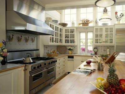 一个大厨房的设计