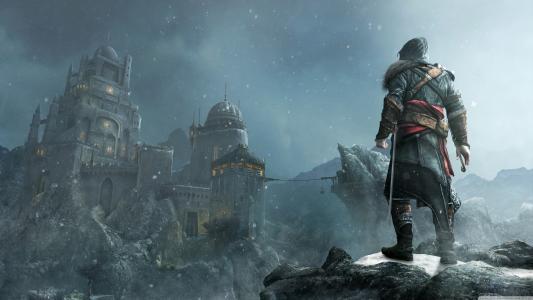战士看着堡垒