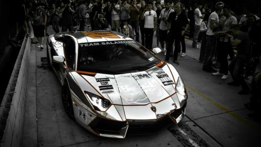 兰博基尼Aventador LP 700-4赛车