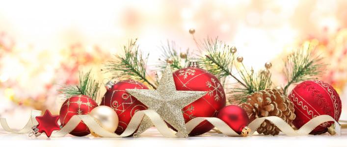圣诞节与红球